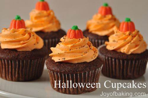 Halloween Cakes Recipes With Pictures  Halloween Cupcakes Recipe Joyofbaking Tested Recipe