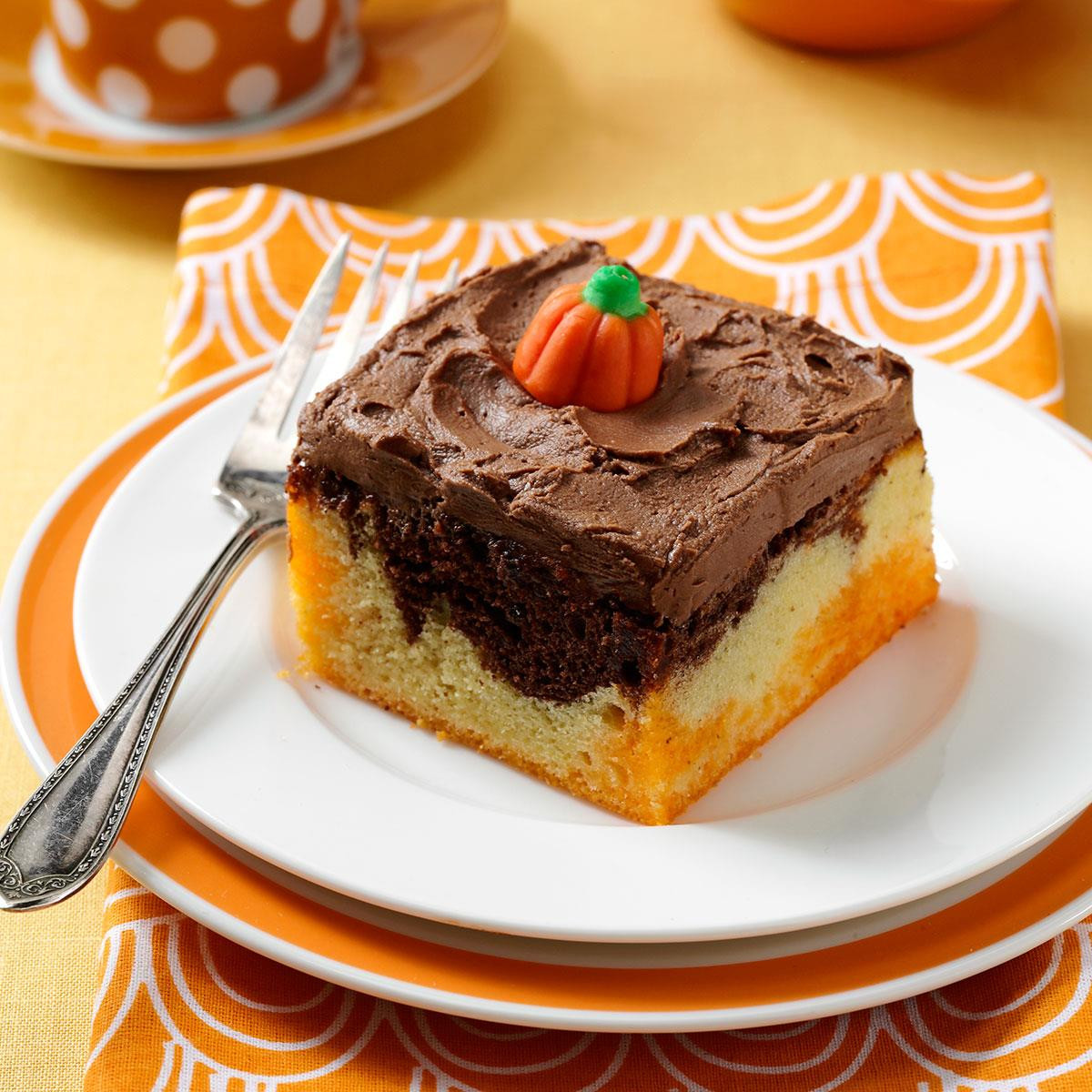 Halloween Cakes Recipes With Pictures  Halloween Poke Cake Recipe