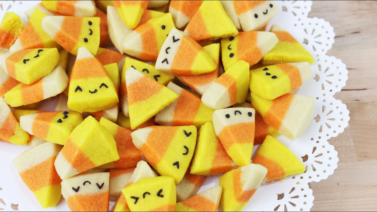 Halloween Candy Cookies  How to Make Halloween Candy Corn Cookies