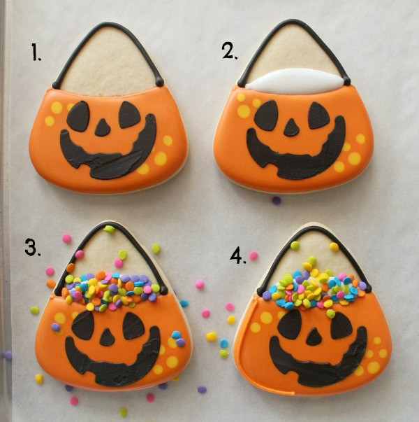 Halloween Candy Cookies  Halloween Candy Bucket Cookies – The Sweet Adventures of