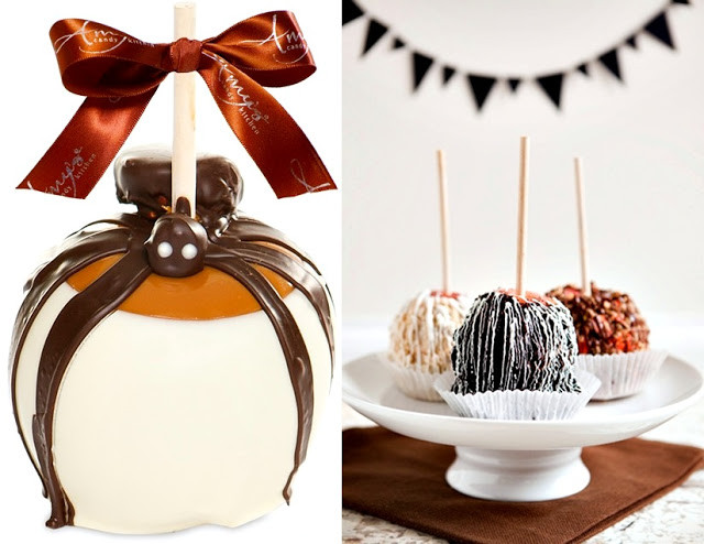 Halloween Caramel Apples Ideas  Pop Culture And Fashion Magic Easy Halloween food ideas
