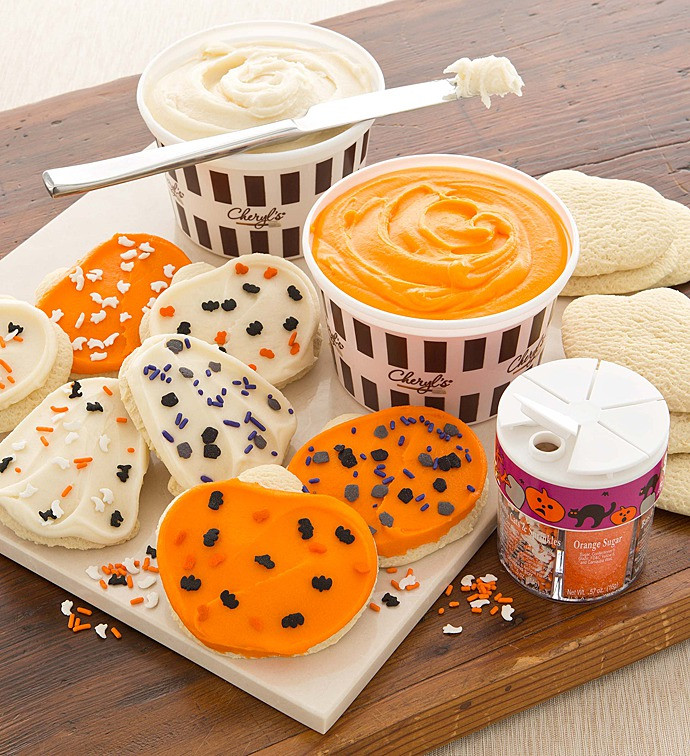 Halloween Cookies Decorating  Halloween Cutout Cookie Decorating Kit