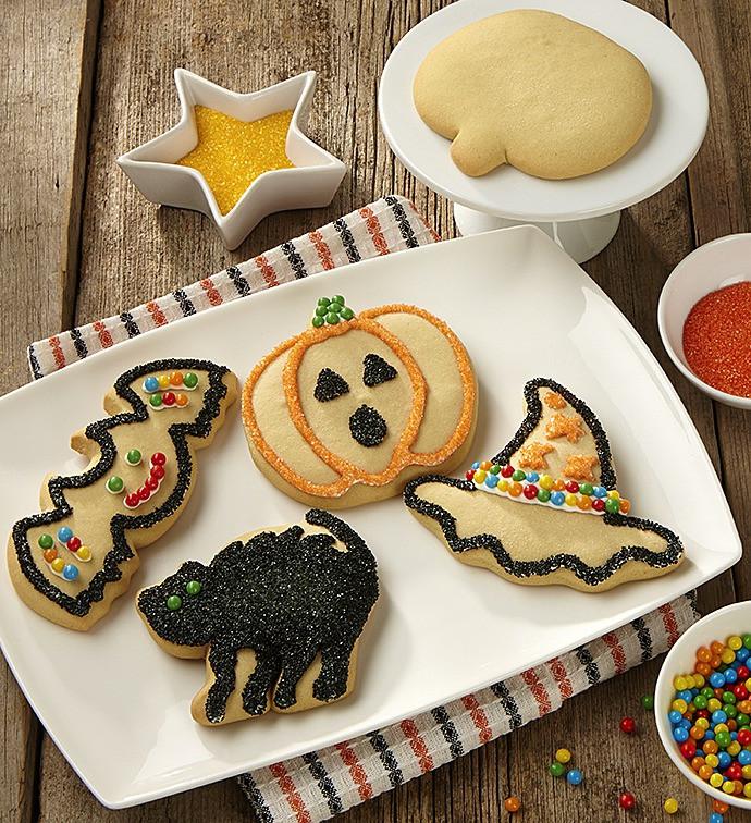 Halloween Cookies Decorating  Halloween Cookie Decorating Kit