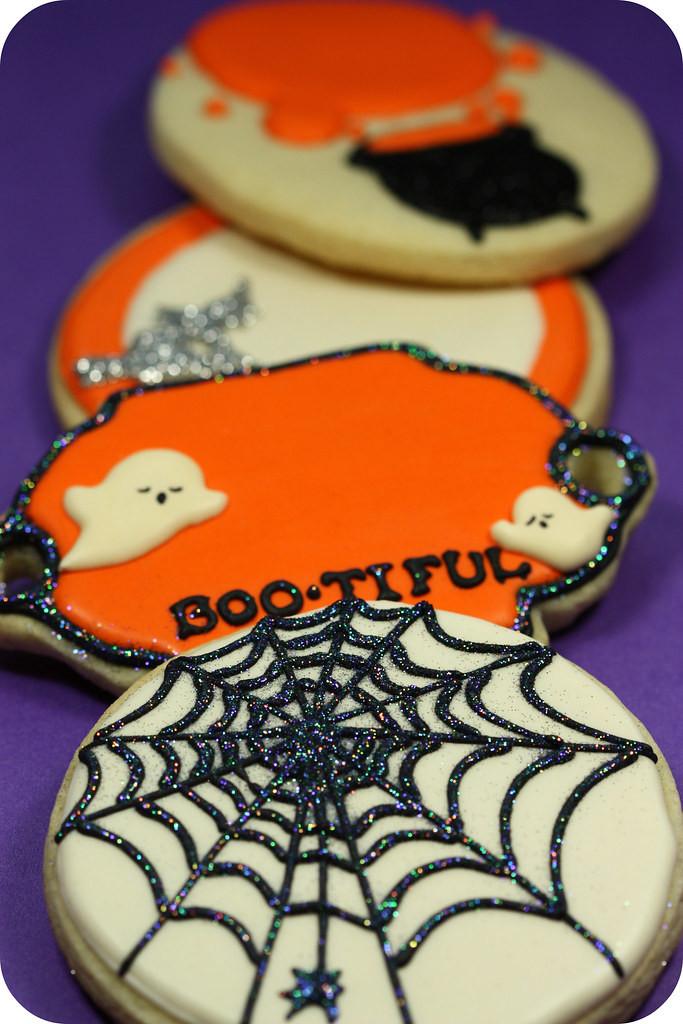 Halloween Cookies Decorating  Halloween decorated cookies sweetopia