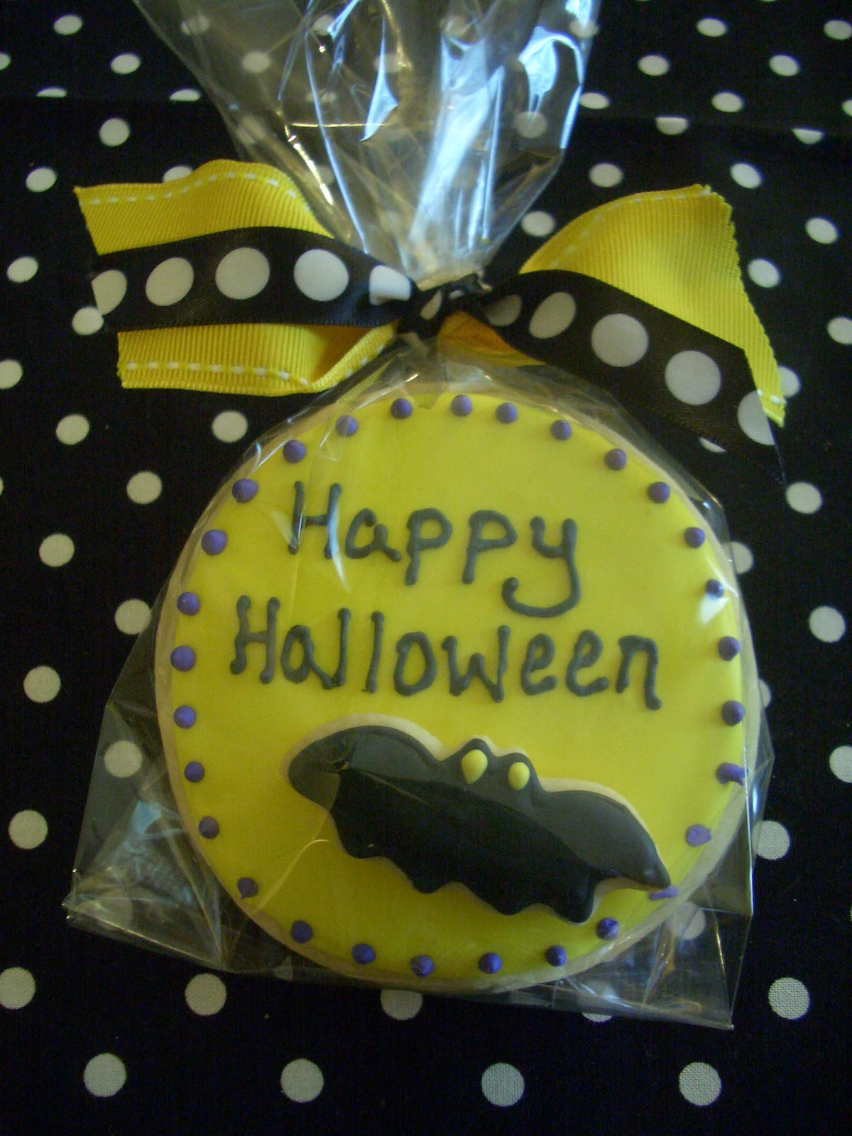 Halloween Cookies Delivered  Nanny s Sugar Cookies LLC October 2010