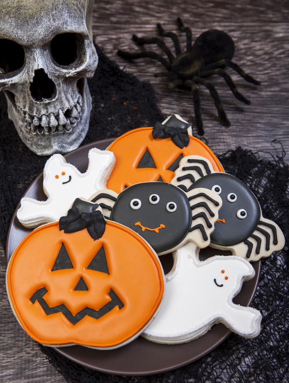 Halloween Cookies Pictures  Spooky Cookie Halloween Cookie Decorations