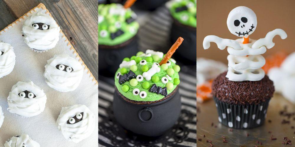 Halloween Cupcakes Decorating Ideas  31 Cute Halloween Cupcakes Easy Recipes for Halloween
