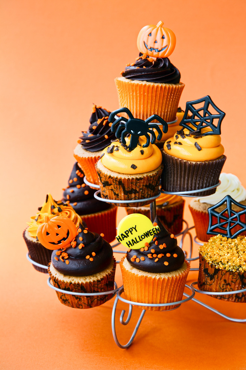 Halloween Cupcakes Decorations  Halloween Cupcake Ideas