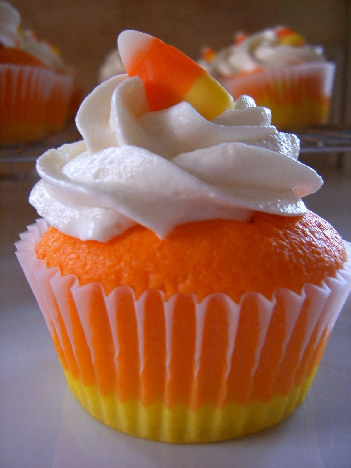 Halloween Cupcakes Recipes  Candy Corn Cupcakes s and for