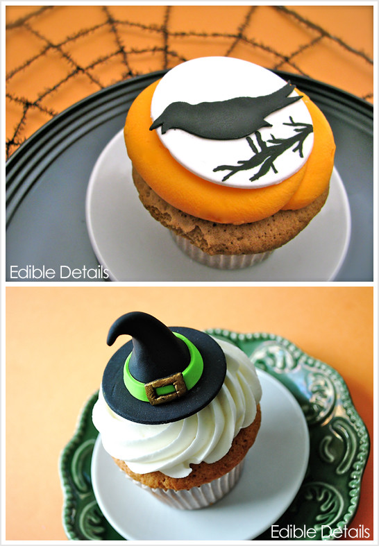 Halloween Cupcakes Toppers  Spook tacular Halloween Cupcake Toppers