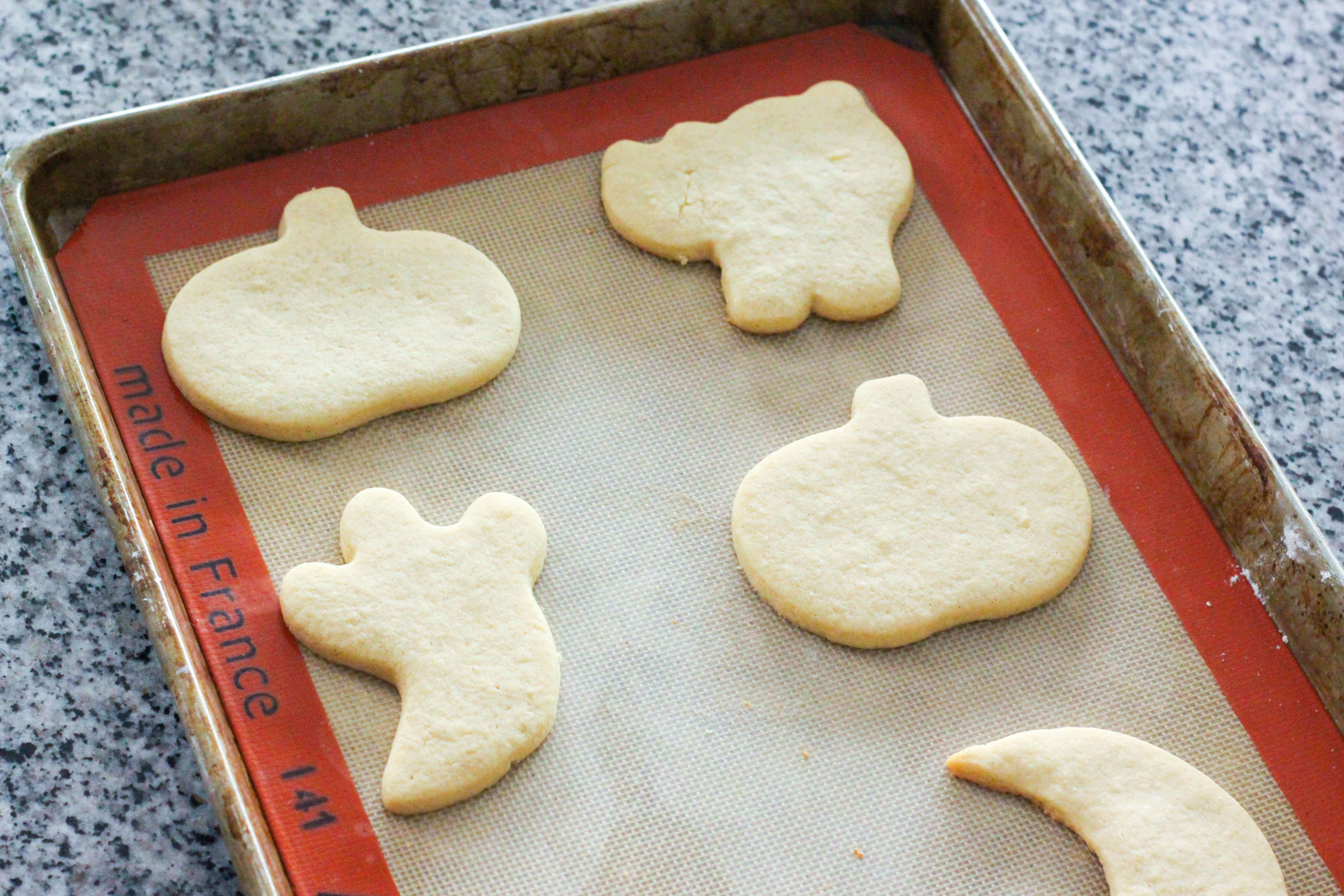 Halloween Cut Out Cookies  Halloween Cut Out Sugar Cookies