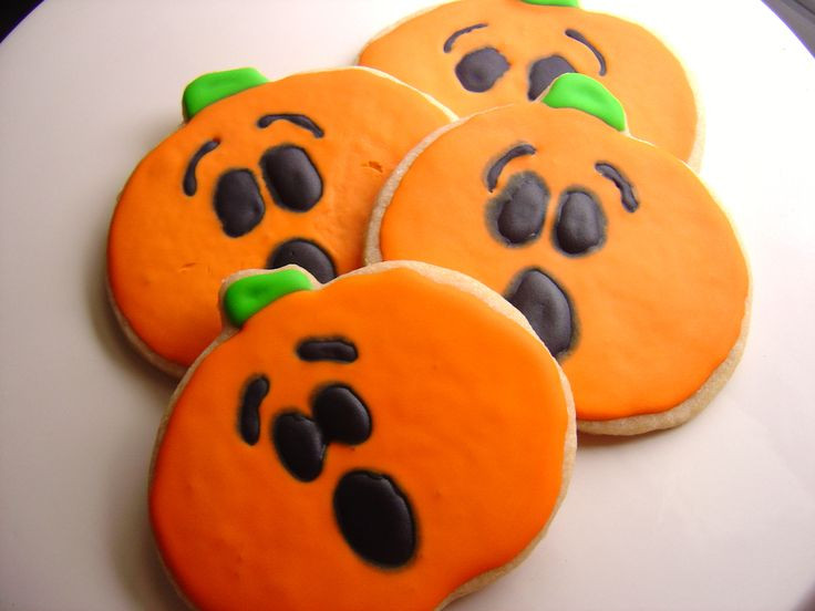 Halloween Cut Out Cookies  82 best Halloween Cut out Cookies and Treats images on