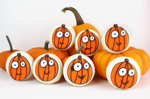 Halloween Decorated Cookies  Decorated Halloween Cookies