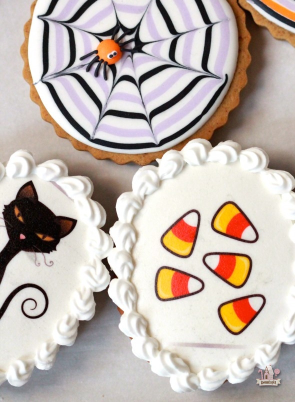 Halloween Decorated Cookies  Easy Decorated Cookies for Halloween