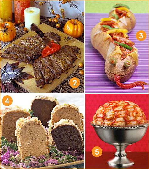 Halloween Dinner Ideas For Adults  Creative Halloween Dinner Ideas