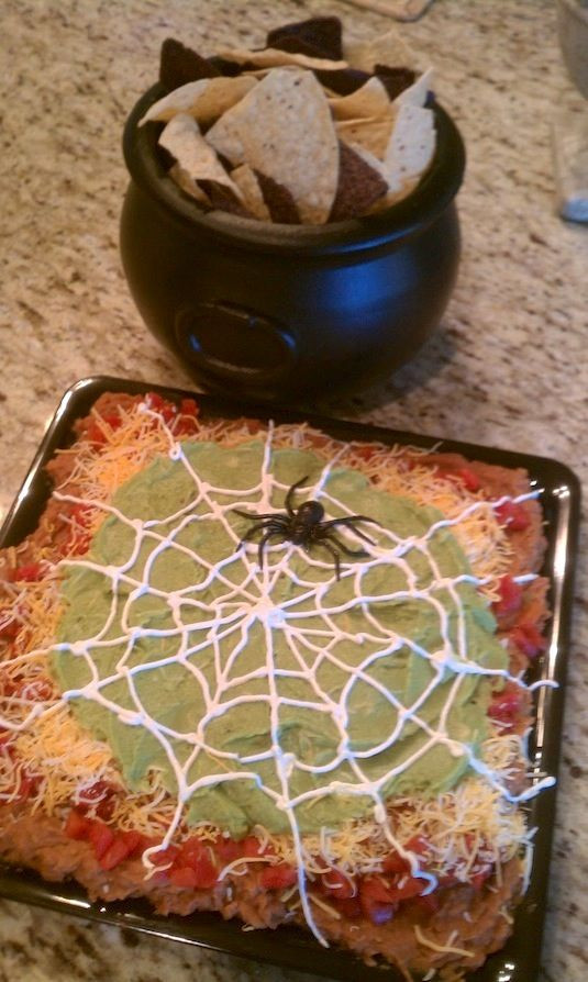 Halloween Dips And Spreads  64 Healthy Halloween Snack Ideas For Kids Non Candy