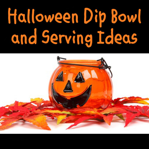 Halloween Dips And Spreads  Halloween Dip Bowls and Serving Dips Ideas