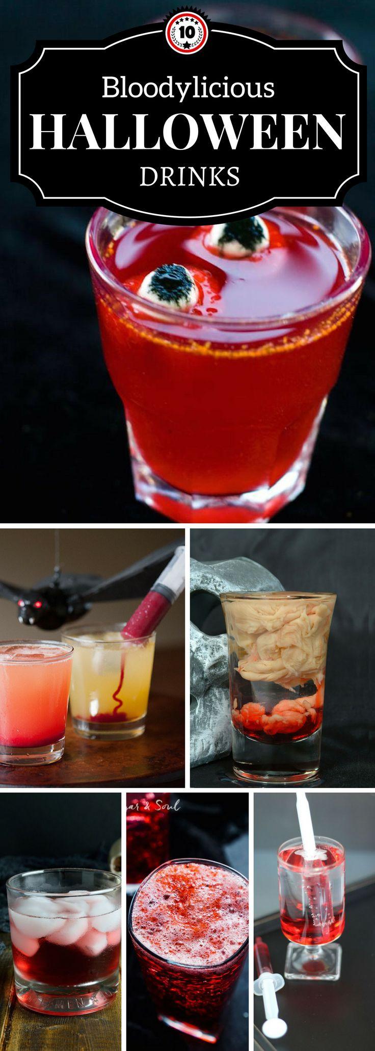 Halloween Drinks Recipes  Best 25 Halloween drinks ideas on Pinterest