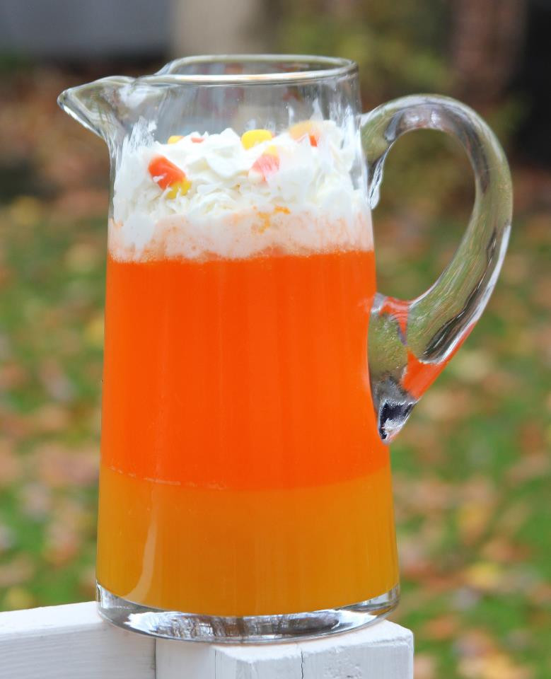 Halloween Drinks Recipes  Punkie Pie s Place Candy Corn Punch