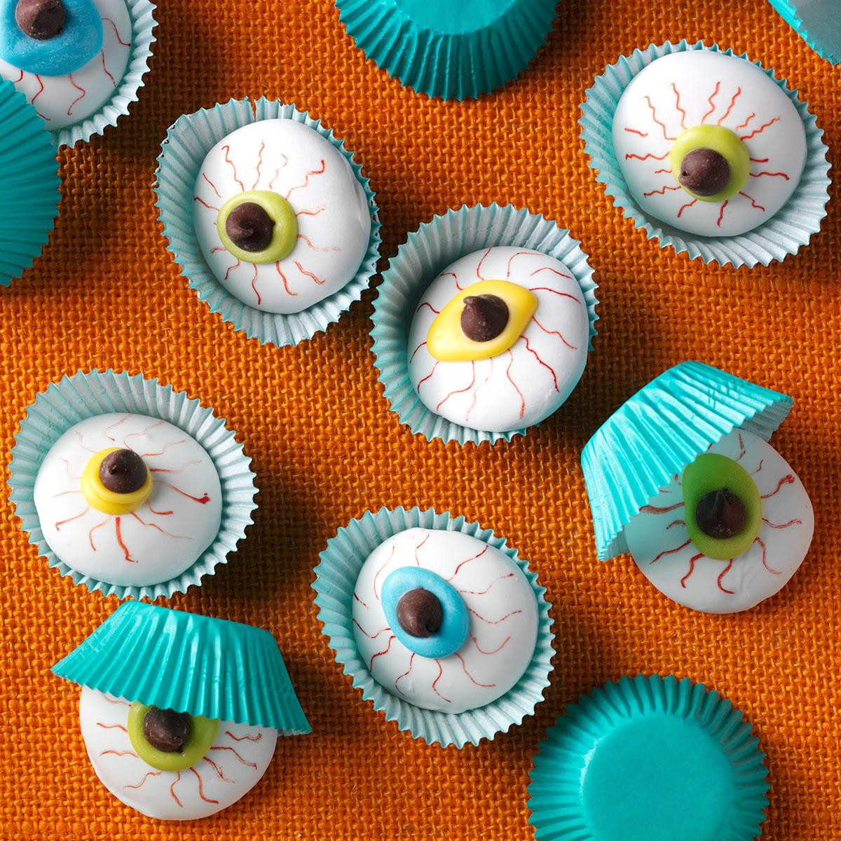 Halloween Eyeball Cookies  Eyeball Cookies Recipe