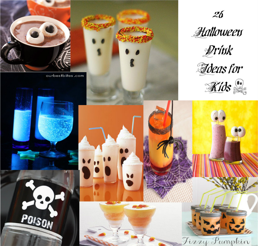 Halloween Food And Drinks  Cute Food For Kids 28 Halloween Drink Recipes For Kids