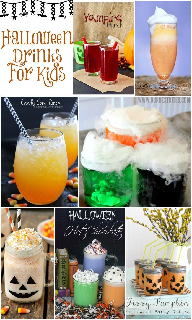 Halloween Food And Drinks  Halloween Drinks For Kids Collection
