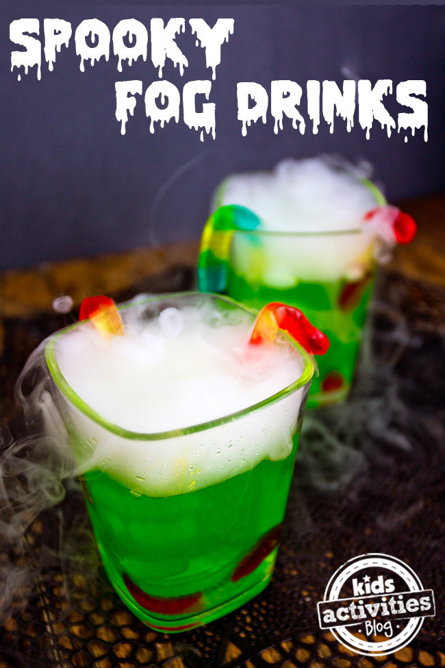 Halloween Food And Drinks  Halloween Party Drink Spooky Fog Drinks