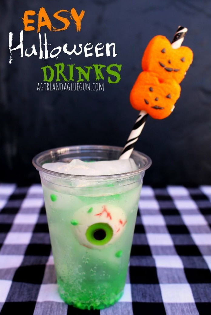 Halloween Food And Drinks  Spooky Eyeball Halloween Drink – Best Cheap Easy & Fast