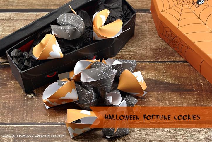 Halloween Fortune Cookies  Halloween Fortune Cookies