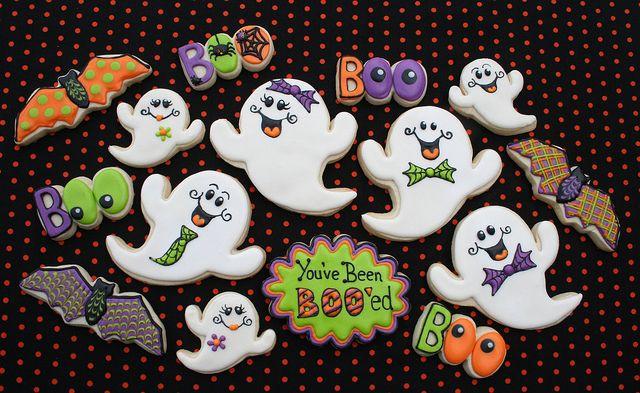 Halloween Ghost Cookies  Top 14 Ghost Cookies Designs For Halloween – Cheap Easy