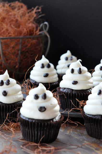 Halloween Ghost Cupcakes  Desserts Archives Page 3 of 5 Everyday Southwest