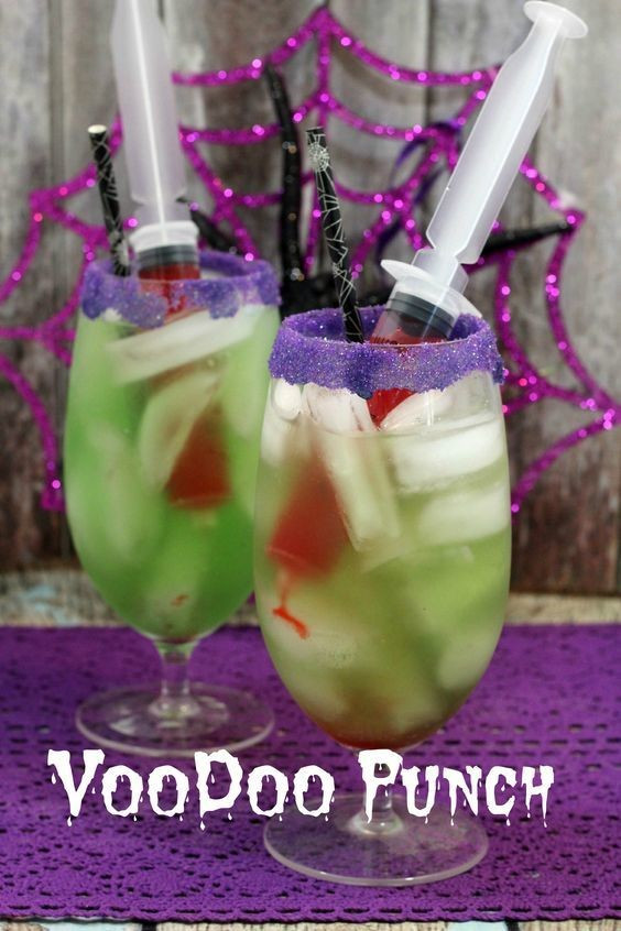 Halloween Non Alcoholic Drinks Recipes  Voodoo Punch Non Alcoholic Halloween Drinks Livingly