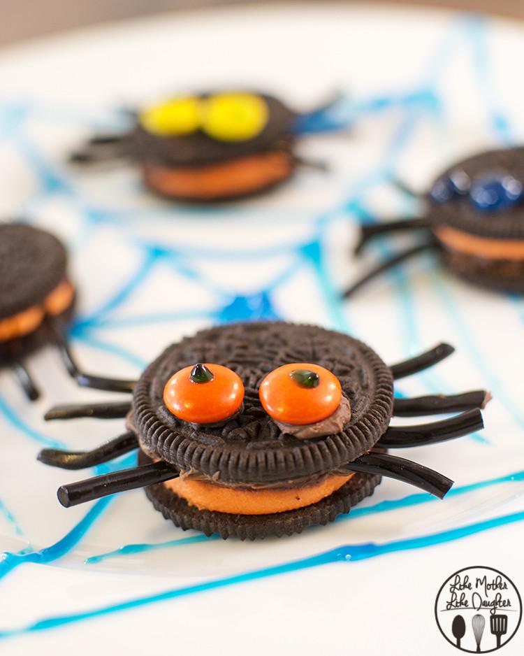 Halloween Oreo Cookies  Halloween Cadbury Screme Eggs Zombie Cupcakes