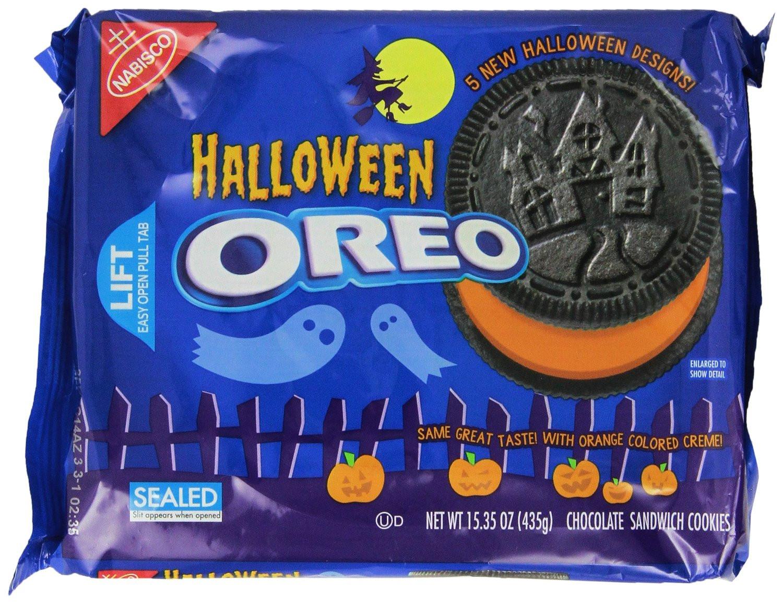 Halloween Oreo Cookies  INNER DIVINE Oreo Cookie Flavor Book Tag