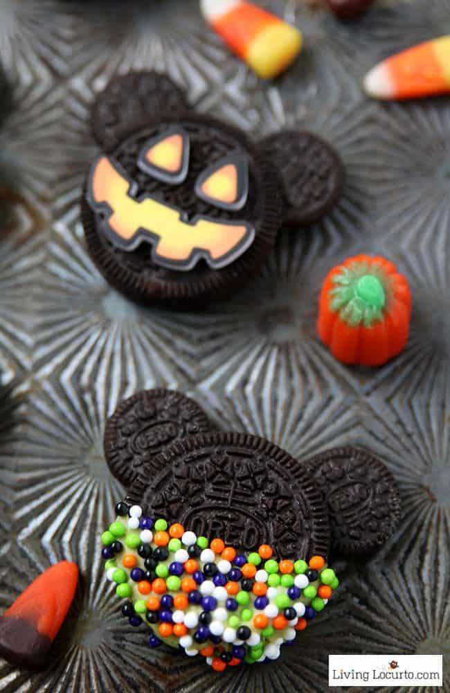 Halloween Oreo Cookies  Mickey Mouse Halloween Cookies No Bake Oreo Treats