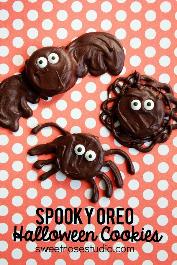 Halloween Oreo Cookies  40 Kid Halloween Food Ideas