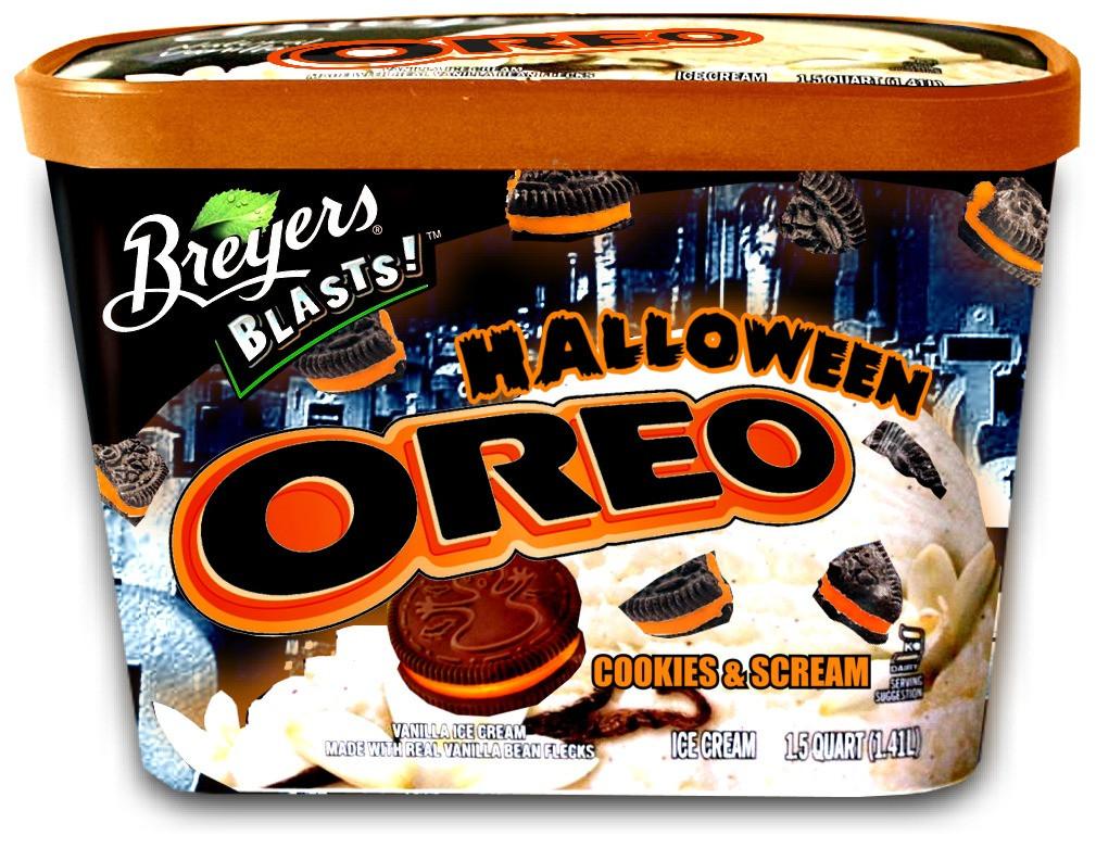 Halloween Oreo Cookies  The Holidaze Halloween Oreo 2012