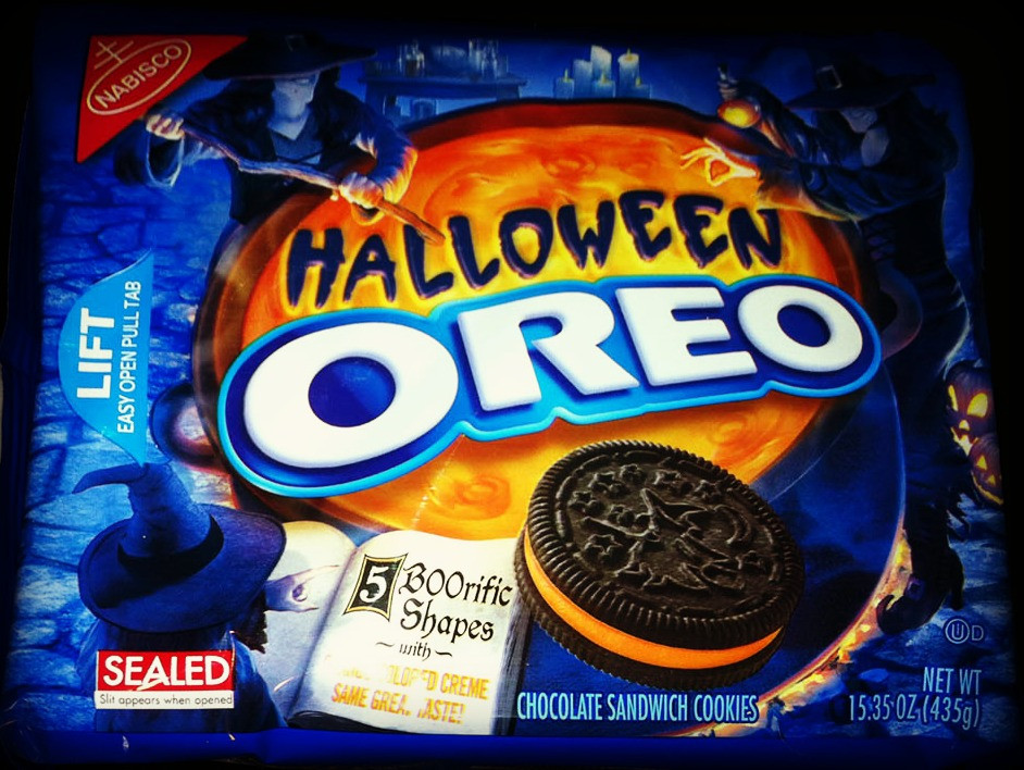 Halloween Oreo Cookies  Dying for Chocolate HALLOWEEN OREO BROWNIES