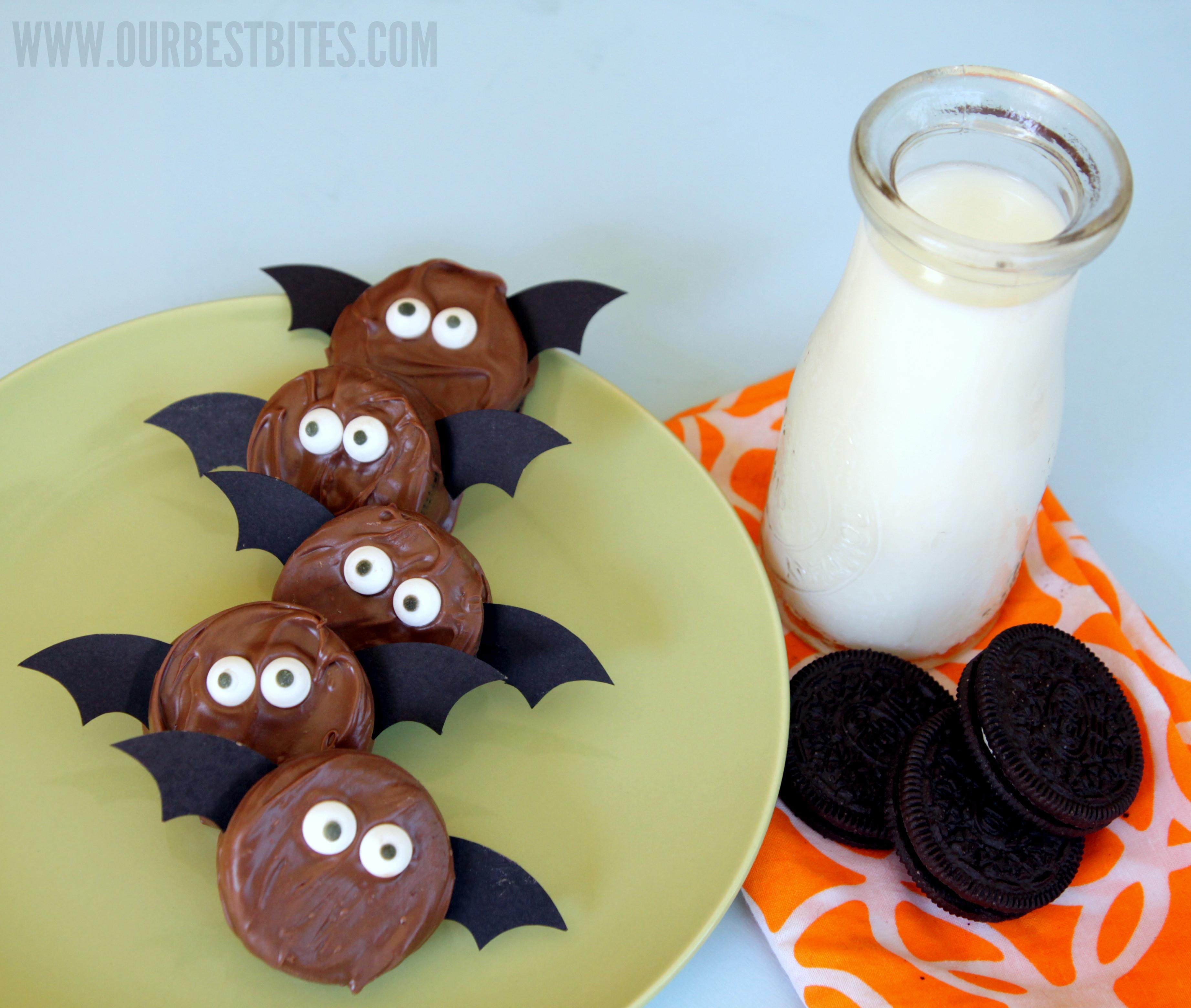 Halloween Oreo Cookies  Not So Spooky Oreo Bats
