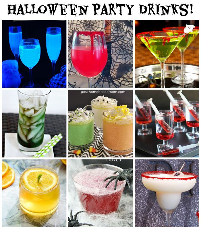 Halloween Party Alcoholic Drinks  Halloween Party Drinks 10 Spooky Ideas alcoholic and