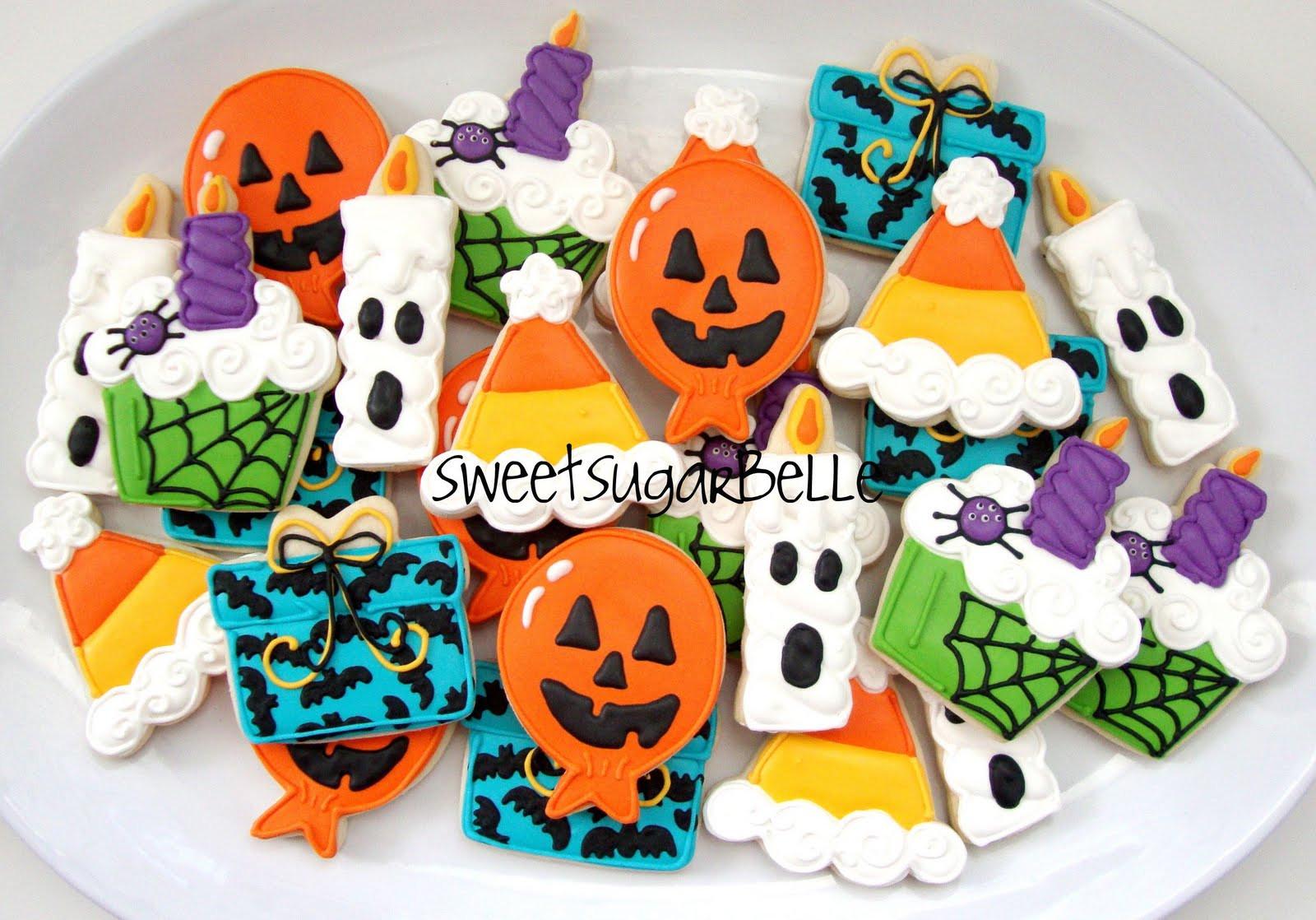 Halloween Party Cookies  Halloween Birthday Set – The Sweet Adventures of Sugar Belle