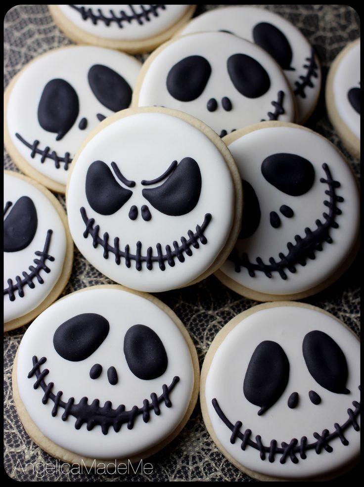 Halloween Party Cookies  16 Tim Burton inspired treats for a nightmarish Halloween