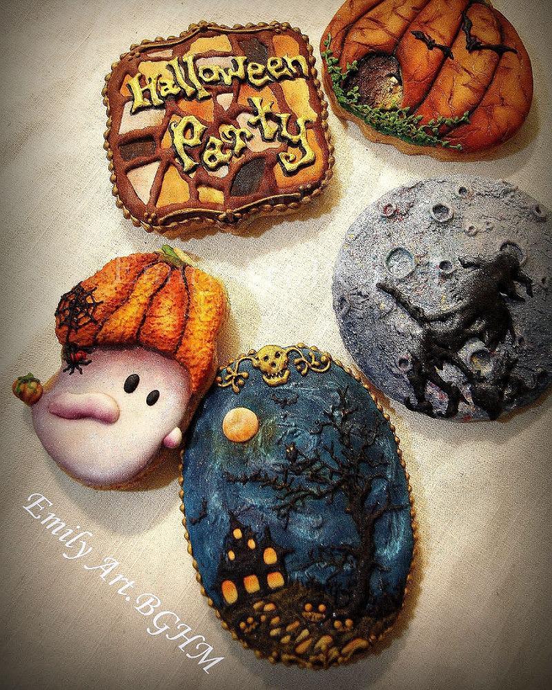 Halloween Party Cookies  Halloween Party