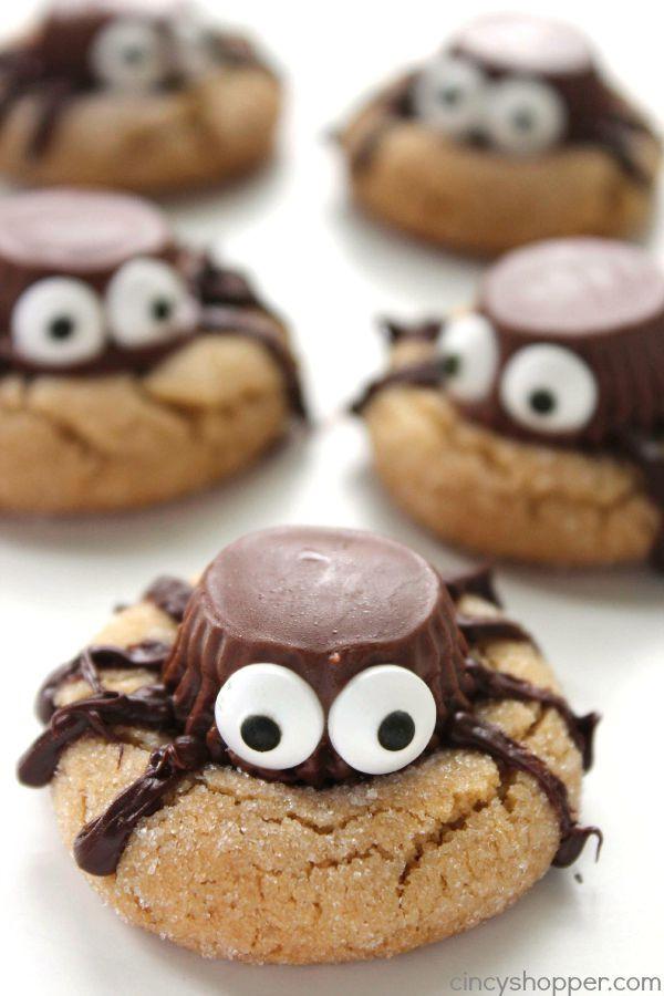 Halloween Party Cookies  Halloween Spider Cookies CincyShopper