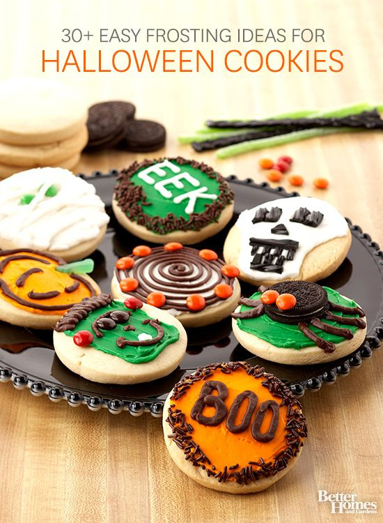 Halloween Party Cookies  185 best images about Cute Halloween Treats on Pinterest