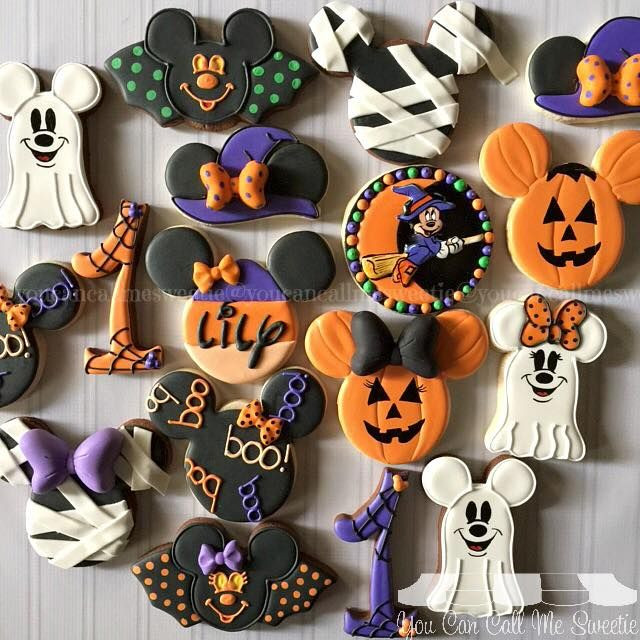 Halloween Party Cookies  Lily is celebrating her first Not So Scary You Can