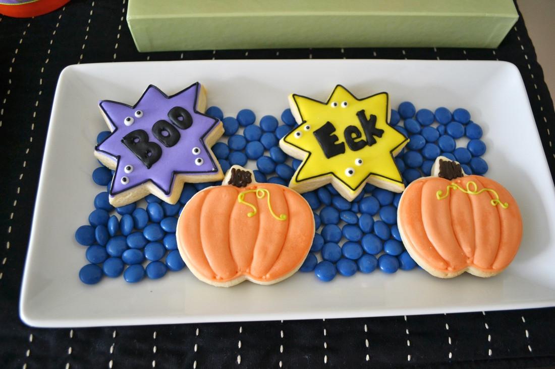 Halloween Party Cookies  Monster Bash Halloween Party