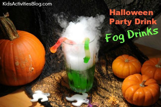 Halloween Party Drinks For Kids  Halloween Party Drink Fog Drinks Kids Activities Blog