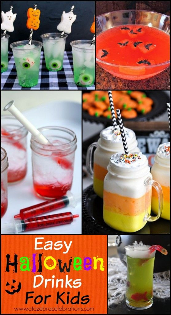 Halloween Party Drinks For Kids  Halloween Drinks for Kids Best Party Ideas