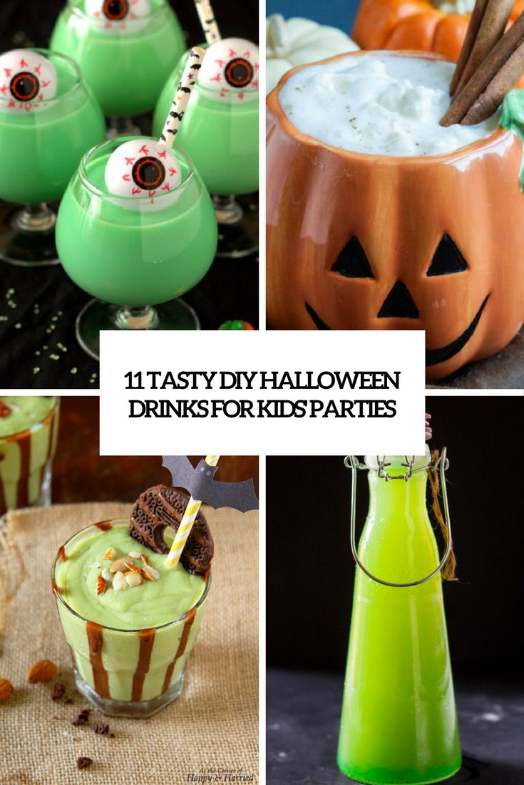 Halloween Party Drinks For Kids  11 Tasty DIY Halloween Drinks For Kids Parties Shelterness